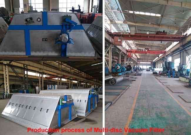 production-process-of-Multi-disc-Vacuum-Filter